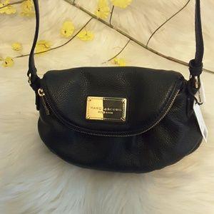 Marc jacobs crossbody genuine leather bag